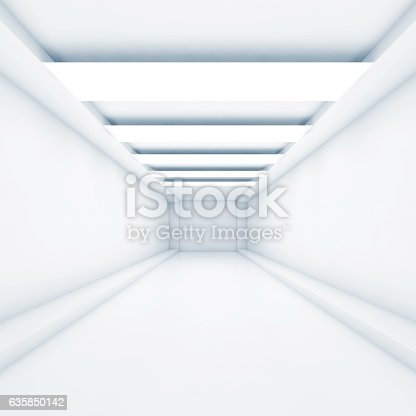 623616378 istock photo Abstract empty tunnel background 3d 635850142