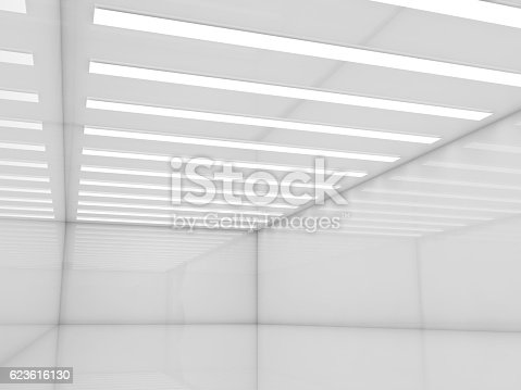 478919130istockphoto Abstract empty white interior, 3d render 623616130