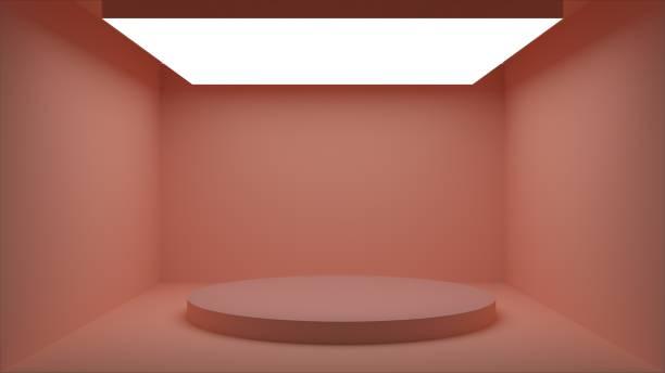 abstrait vide chambre blanc coin plan rapproché - monochrome image teintée photos et images de collection