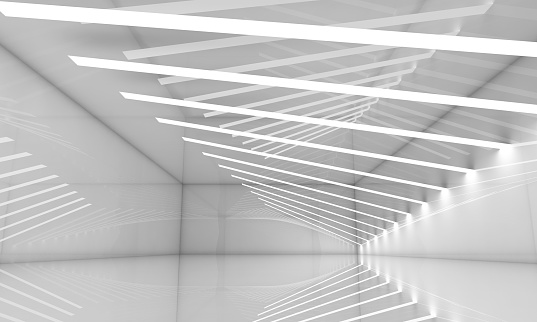 478919130 istock photo Abstract empty wide white hall interior 623616250