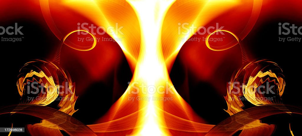 Abstract energy background royalty-free stock photo