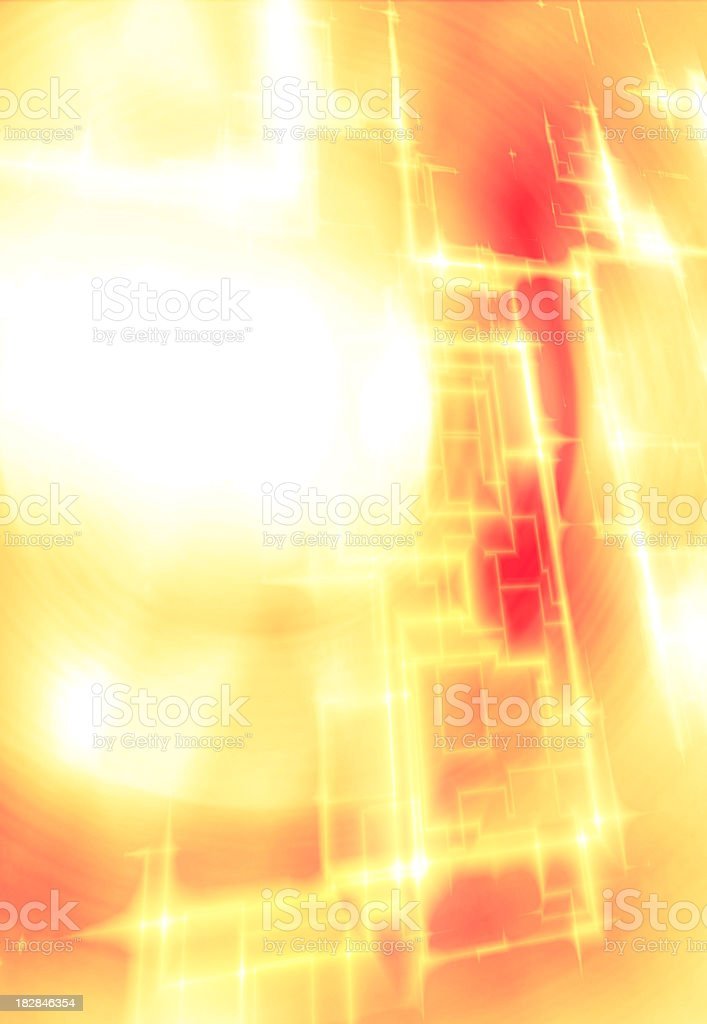 Abstract Energy Techno Pattern royalty-free stock photo