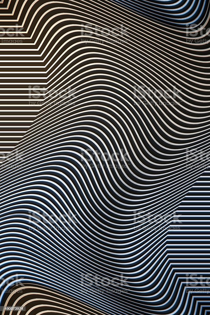 Abstract, engineering, architectural or design stripy background stock photo