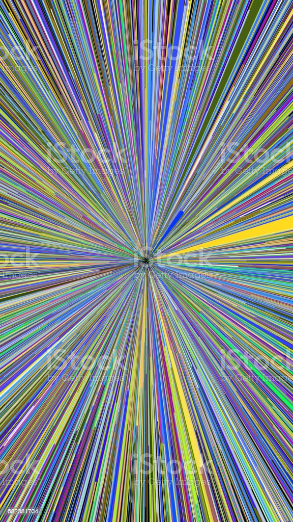 Abstract explosion burst of fireworks light royalty-free stock photo