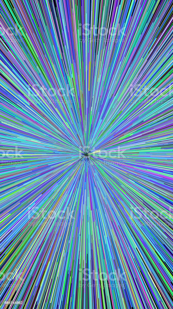 Abstract explosion burst of fireworks light foto stock royalty-free