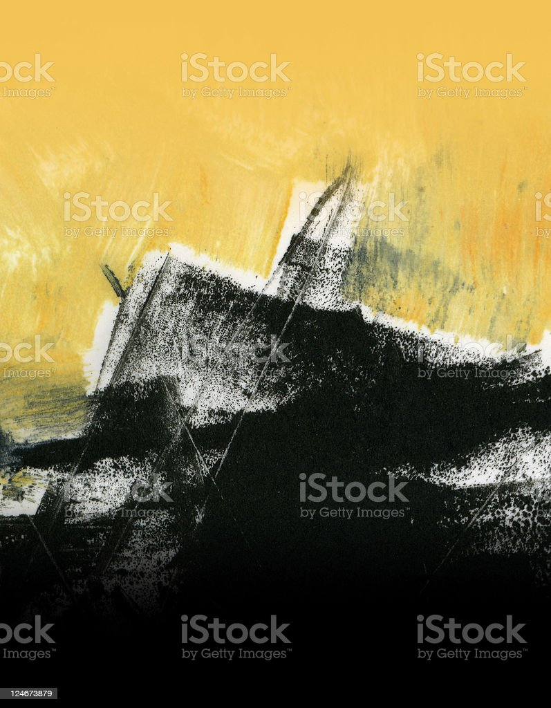Abstract Expressionistic 1 stock photo