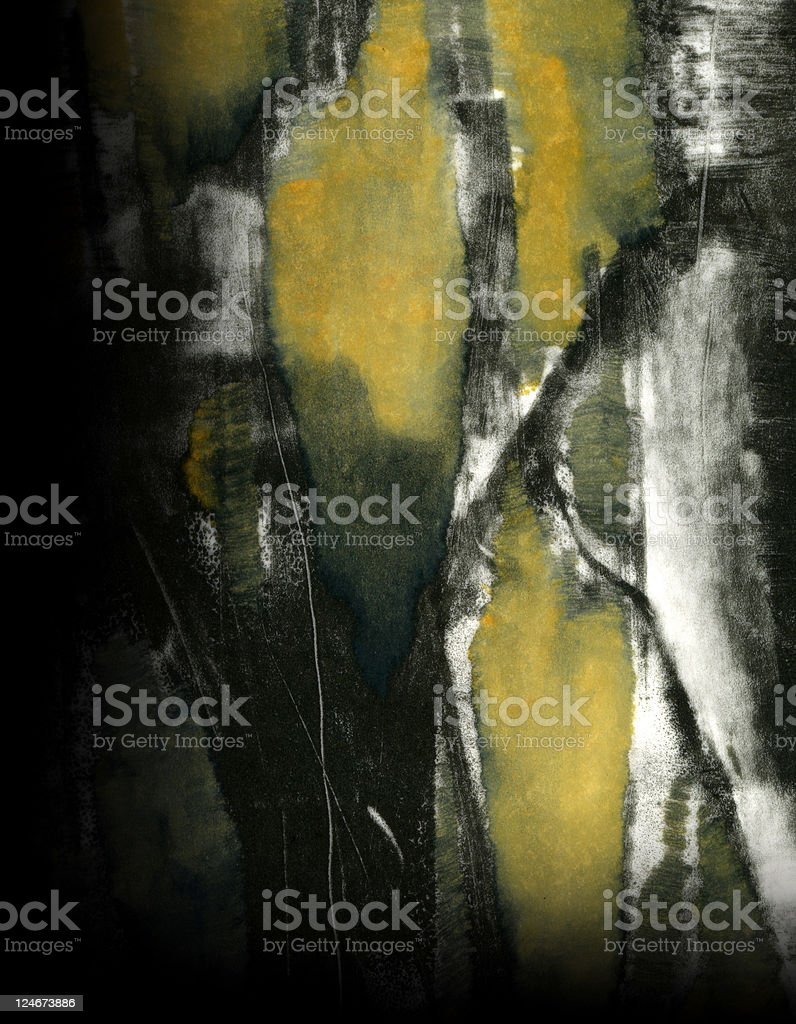 Abstract Expressionistic 4 stock photo