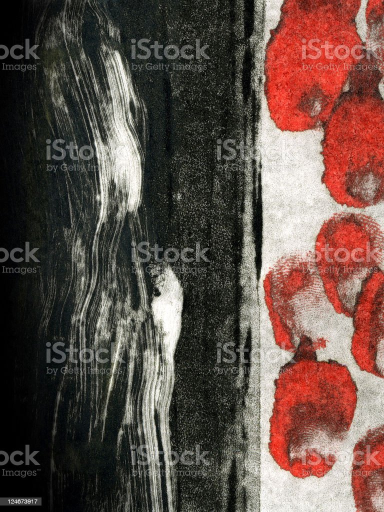 Abstract Expressionistic 5 stock photo