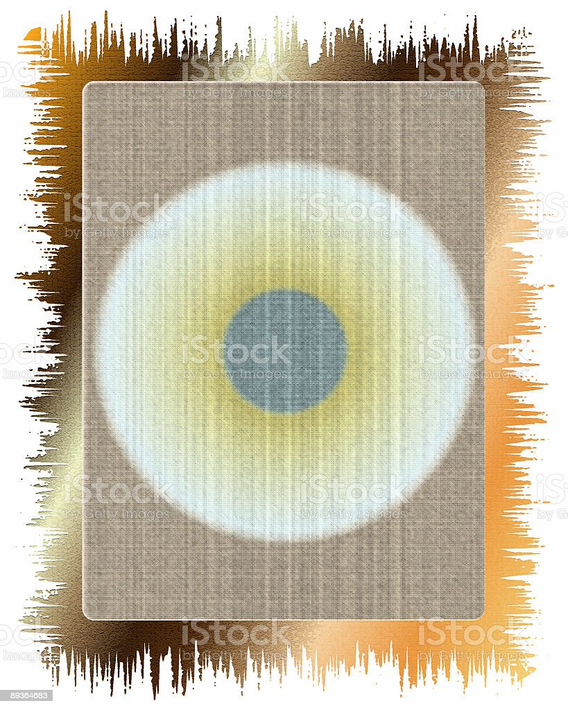 Abstract eye background-frame royalty free stockfoto