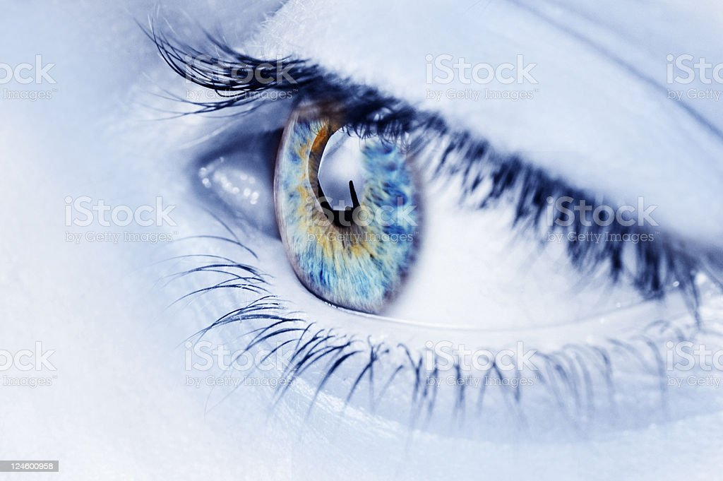 abstract eye royalty-free stock photo