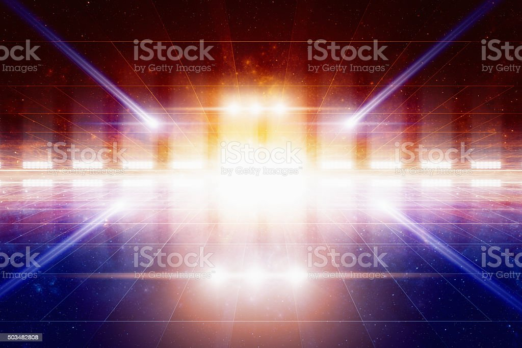 Abstract fantastic background stock photo