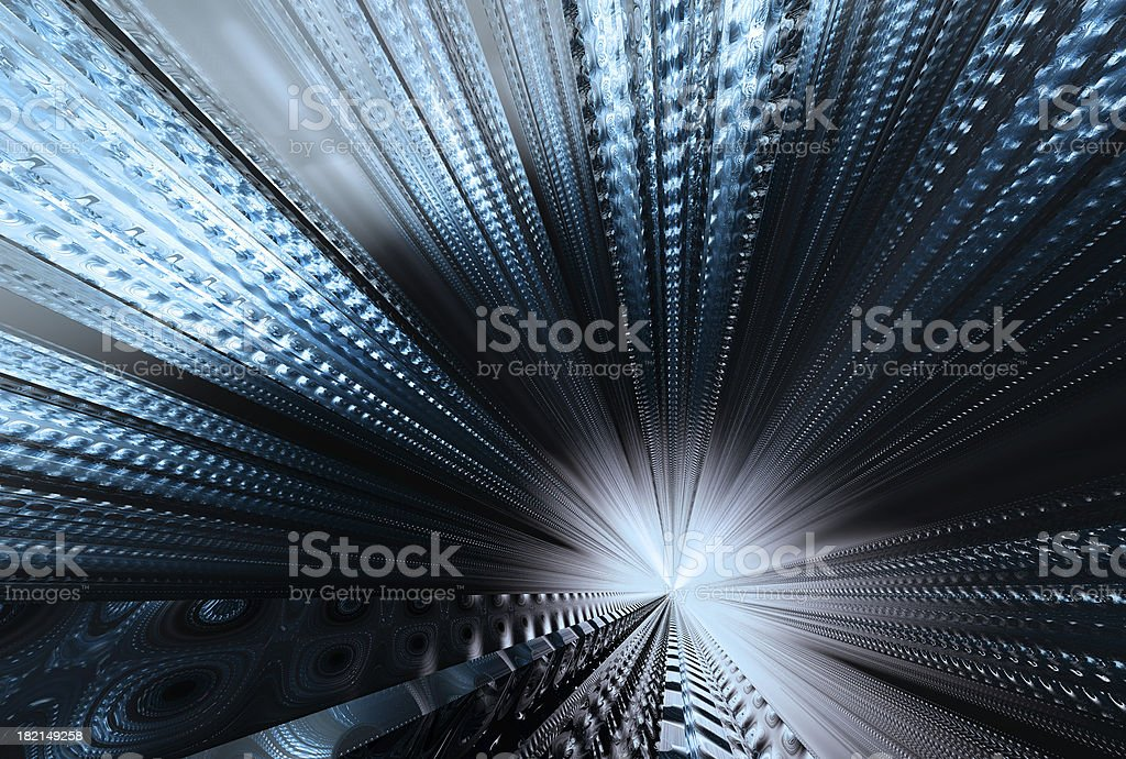 Abstract fast connection 107 royalty-free stock photo