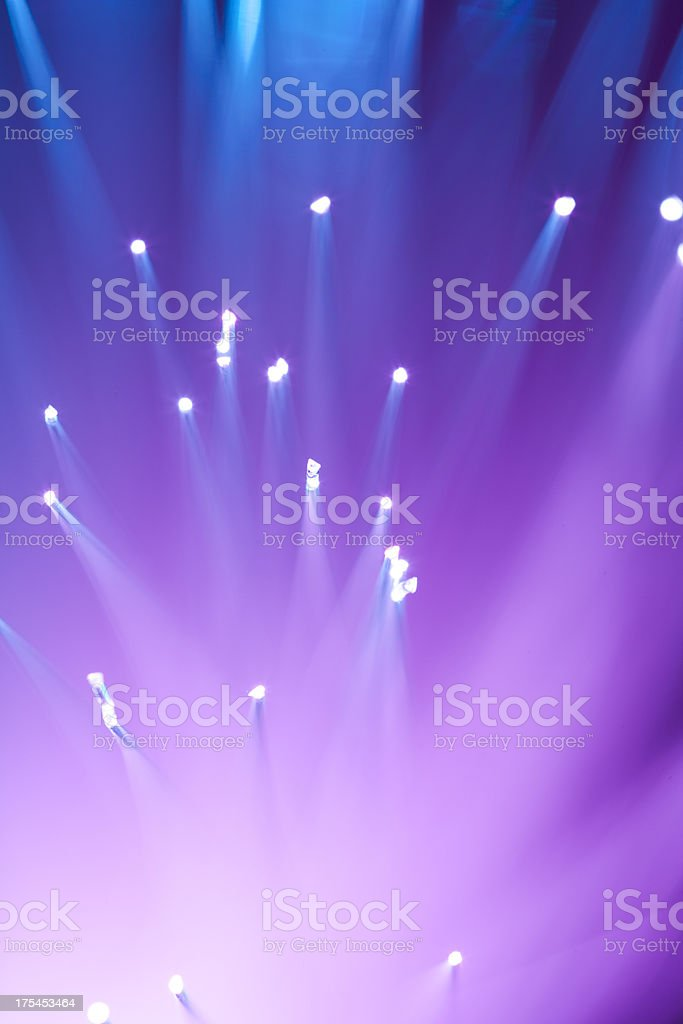 Abstract fiber optics background royalty-free stock photo