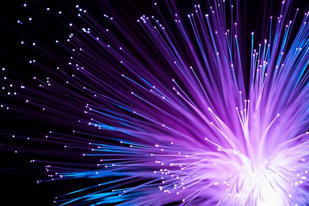 abstract fiber optics - tasarım öğesi stok fotoğraflar ve resimler