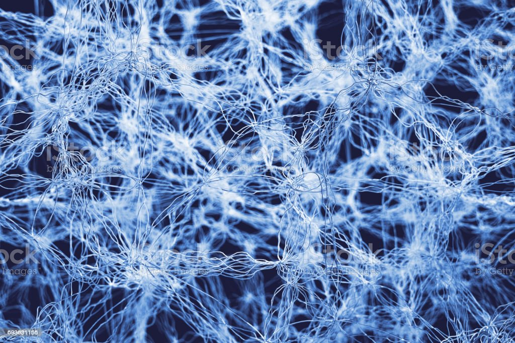 Abstract Fibers stock photo