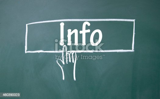 istock abstract finger click info sign 460390023
