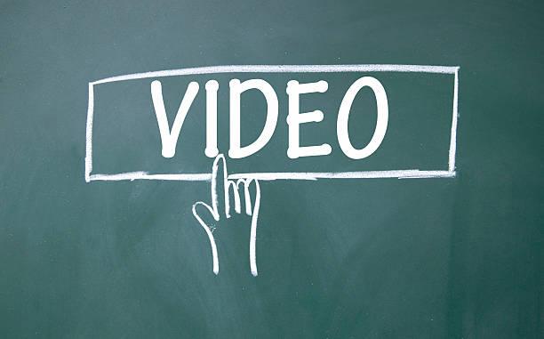 abstrakte finger auf video anmelden - maus video stock-fotos und bilder