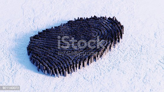 647830814 istock photo Abstract Fingerprint illustration 921140072