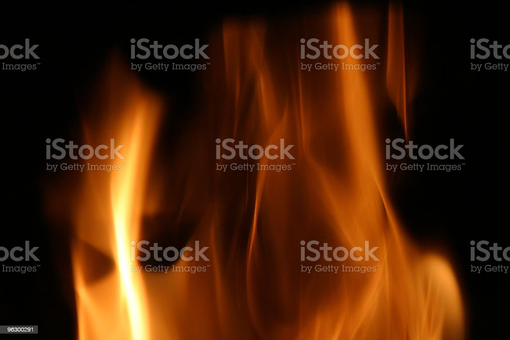 Abstract Fire royalty-free stock photo