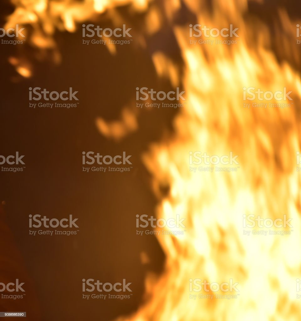Abstract fires blurred background photograph royalty-free stock photo