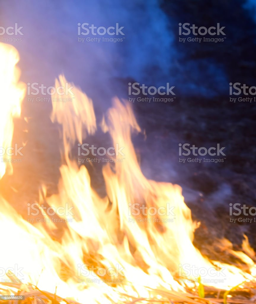 Abstract fires blurred background photograph stock photo