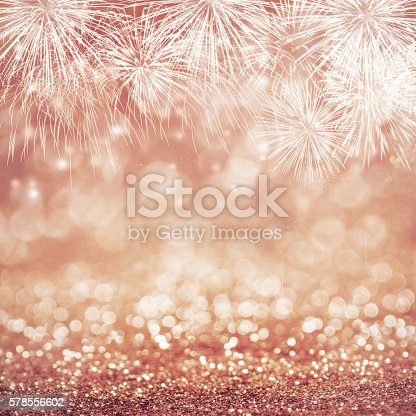 istock Abstract fireworks 578556602