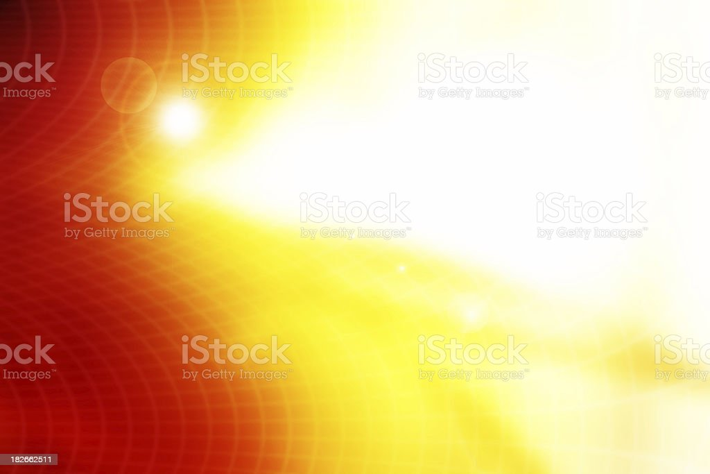 abstract firey grid royalty-free stock photo