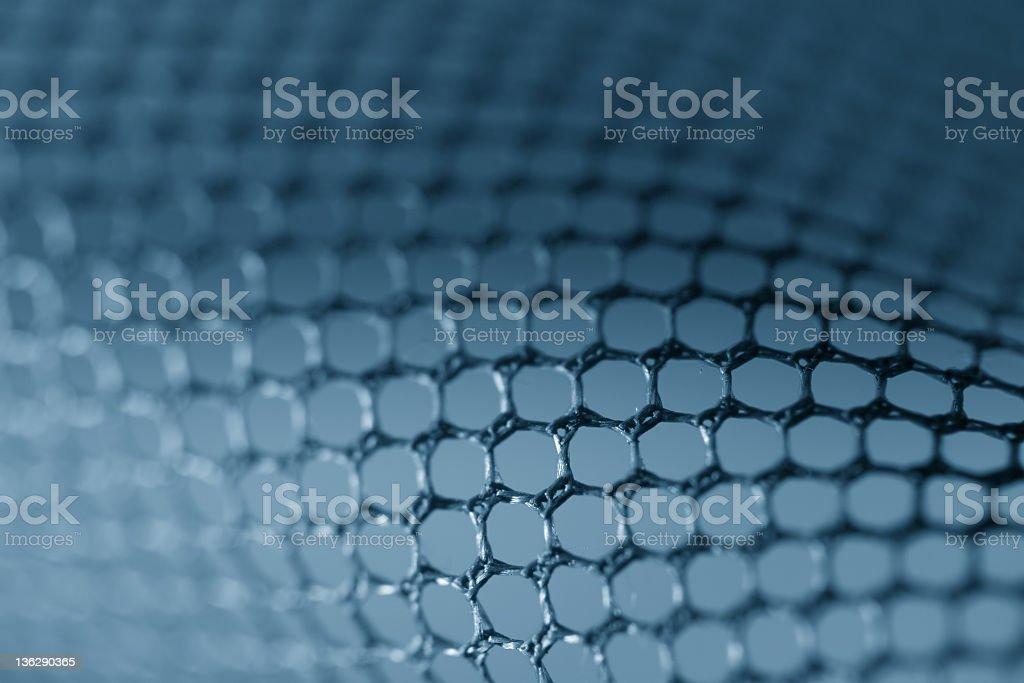 Abstract fishing net royalty-free stock photo