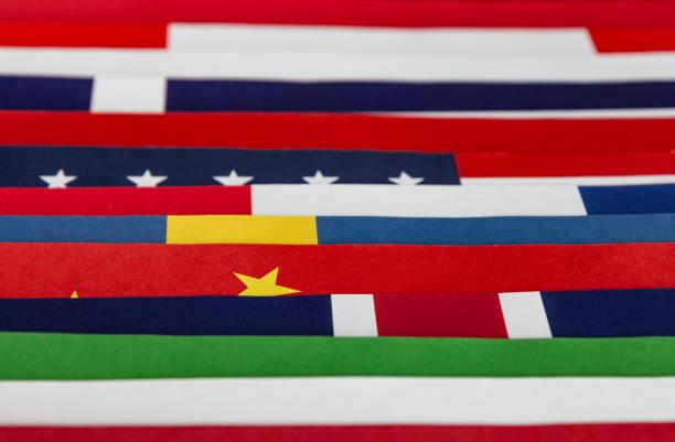 Abstract Flag Hintergrund – Foto