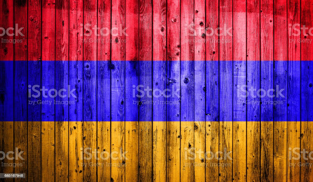 Abstract flag of Armenia royalty-free stock photo