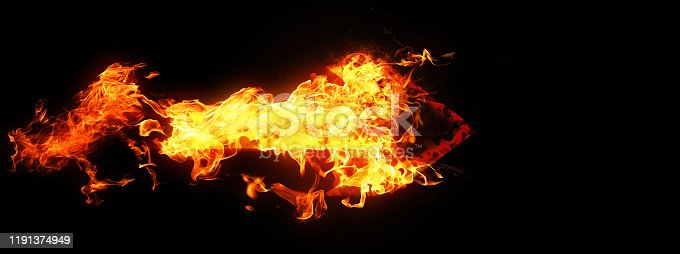468375662 istock photo Abstract flame arrow 1191374949