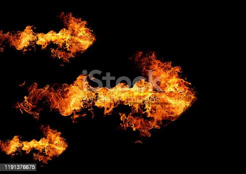 468375662 istock photo Abstract flame arrow 1191376675