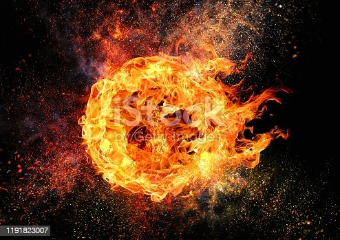istock Abstract flame vortex 1191823007
