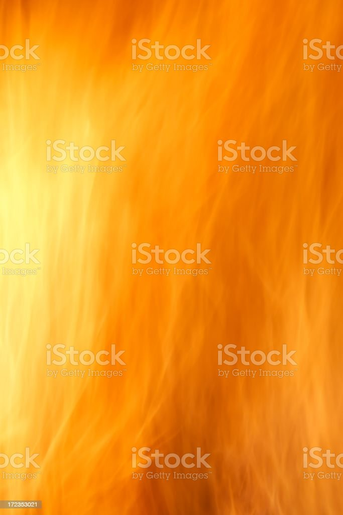 Abstract flames royalty-free stock photo