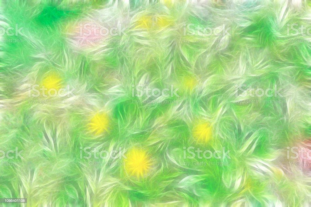 Fondo floral abstracto - foto de stock