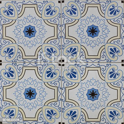 926058102 istock photo abstract floral mosaic pattern, ceramic tile 925833328