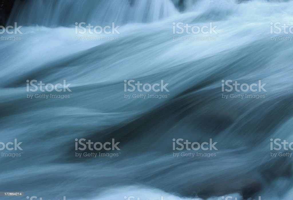 Abstract Flowing Water stock photo