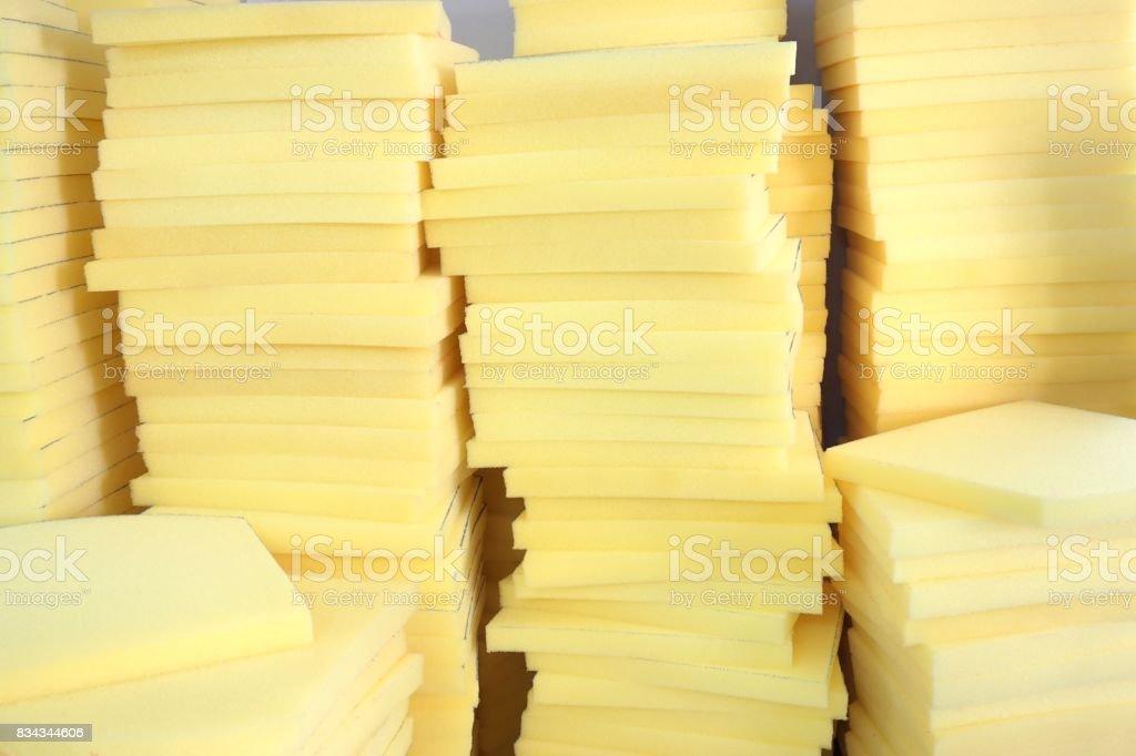 abstract foam texture stock photo