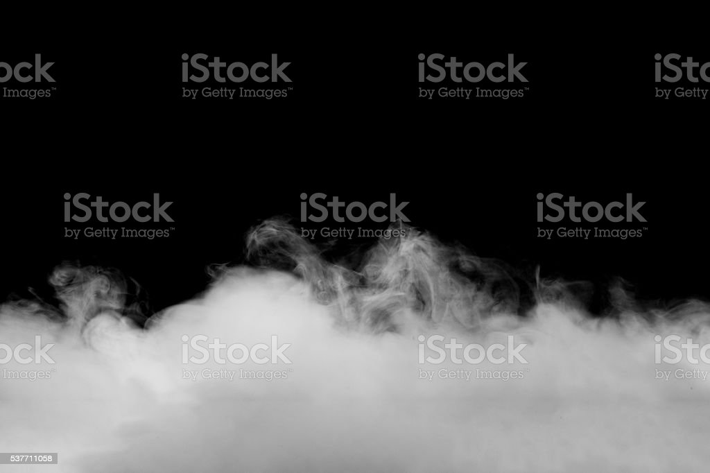 Abstract fog or smoke move on black color background royalty-free stock photo