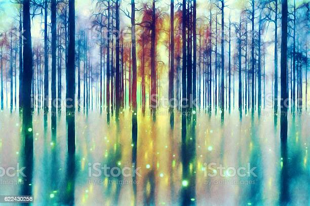 Photo of Abstract forest