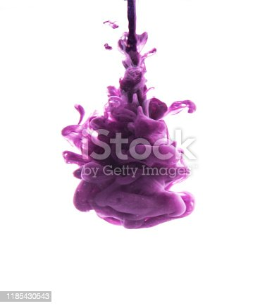 578561164 istock photo abstract formed by color dissolving in water 1185430543