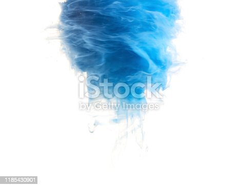 578561164 istock photo abstract formed by color dissolving in water 1185430901