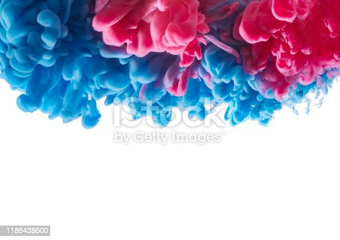 578561164 istock photo abstract formed by color dissolving in water 1185438500