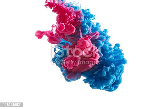 578561164 istock photo abstract formed by color dissolving in water 1185438521