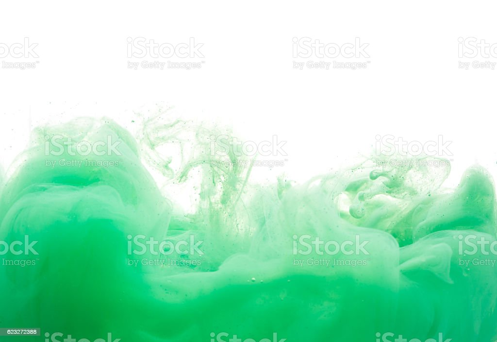 abstract formed by color dissolving in water stock photo