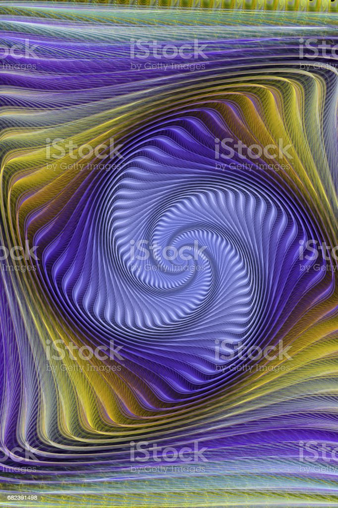 abstract fractal background for creative design photo libre de droits