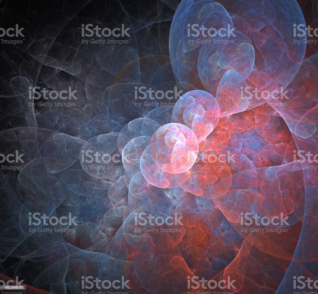Abstract fractal background for creative design royalty-free stock photo