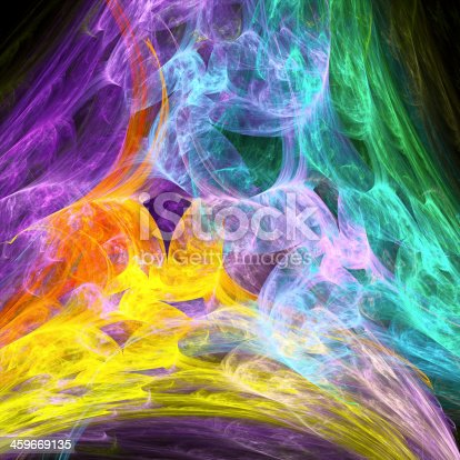 istock Abstract fractal background 459669135