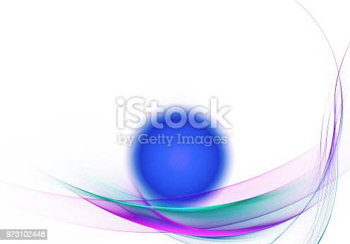 istock abstract fractal background, texture, illustration 973102448