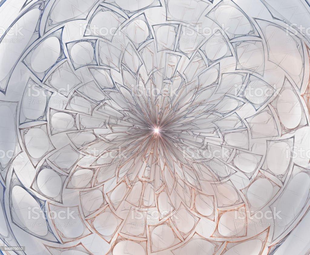 Abstract fractal composition. Motion illustration for design. Fractal Big Bang Background Fractal Art stock photo